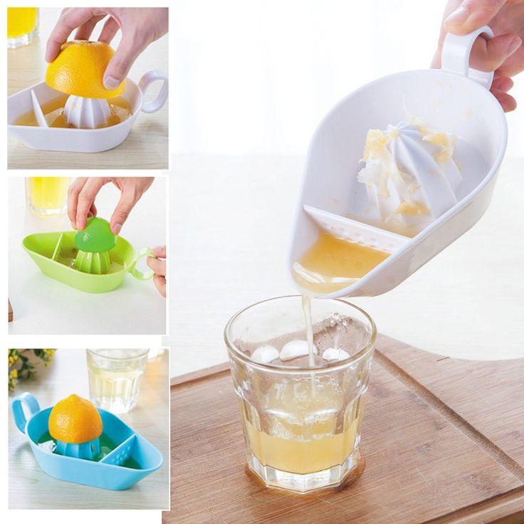1PCS Manual Juicer Orange Lemon Squeezers Fruit Tool Plastic Hand Citrus Juice Maker Kitchen Accessories Vegetable Tools Gadgets