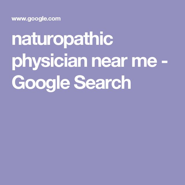 naturopathic physician near me - Google Search