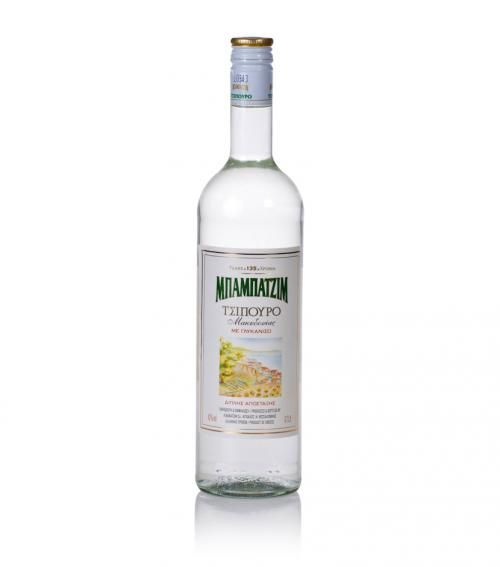 """Babatzim"" tsipouro with aniseed from Macedonia 700ml available at just 23.00€"