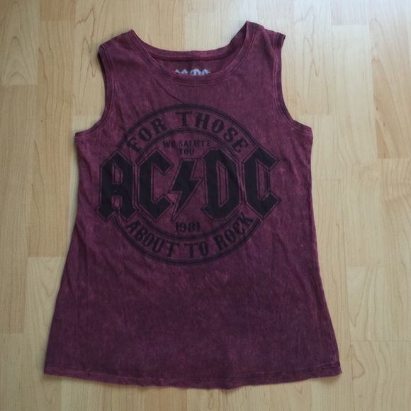 ACDC tank top ACDC tank top NWOT Tops Muscle Tees