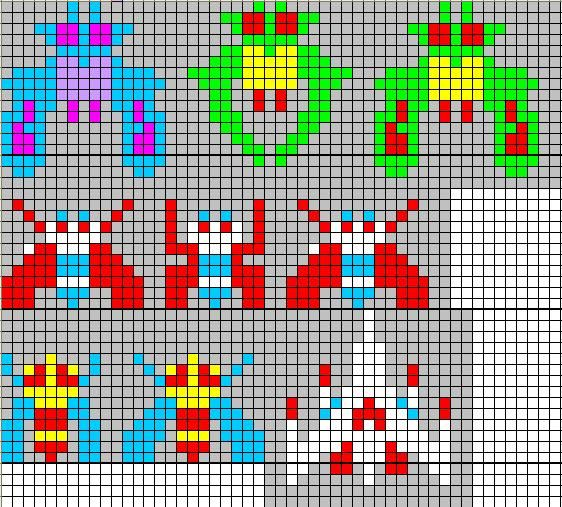 Galaga Jpg 562 215 507 Pixels Needlework Pinterest