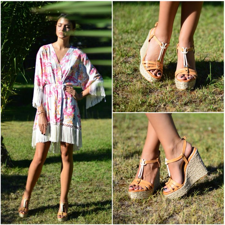 Η Vayia Kala, Blogger από το Pink Cloud Land by Vayia Kala, με πλατφόρμες #SanteShoes από τη Collection Summer 2014 #SanteLook #SanteBloggersSpot