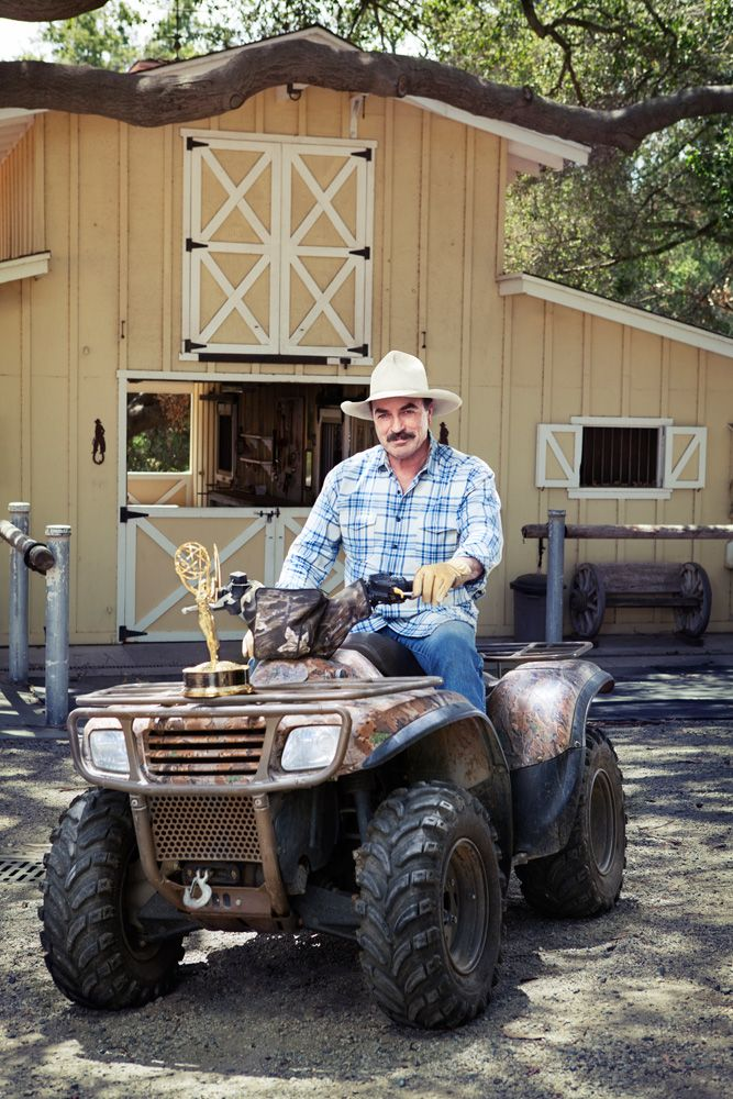 Where Is Tom Selleck's Ranch | Tom Selleck for Emmy Magazine | Corey Nickols Takes Photos