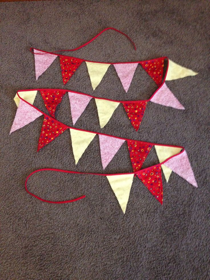 Bunting for Maggie