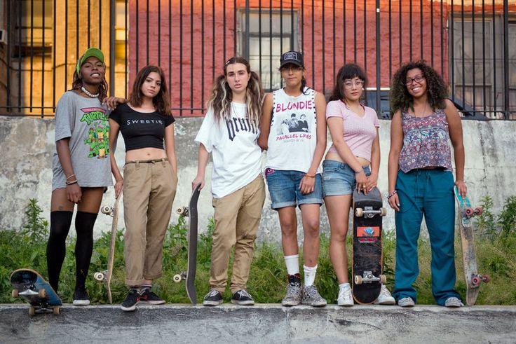 Sisterhood of the Skateboard - The New York Times