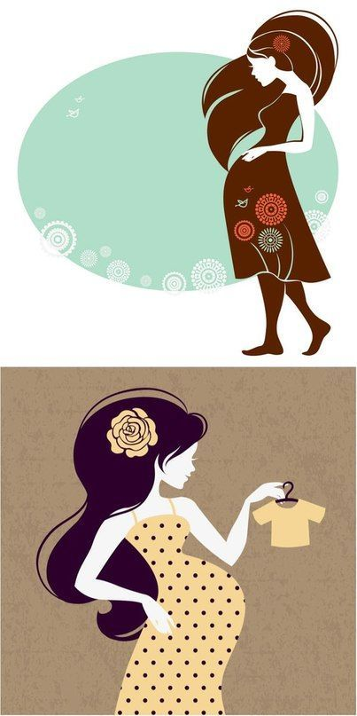 Беременность картинки из книги