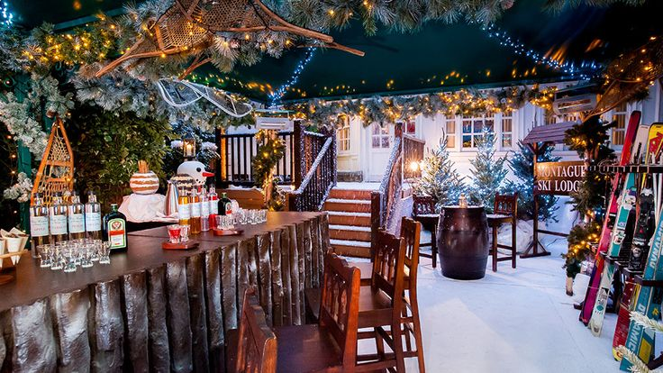 Ski Lodge, London's original Ski Lodge, in Bloomsbury London will be back in November and is ideal for Christmas parties, special occasions and private hire.