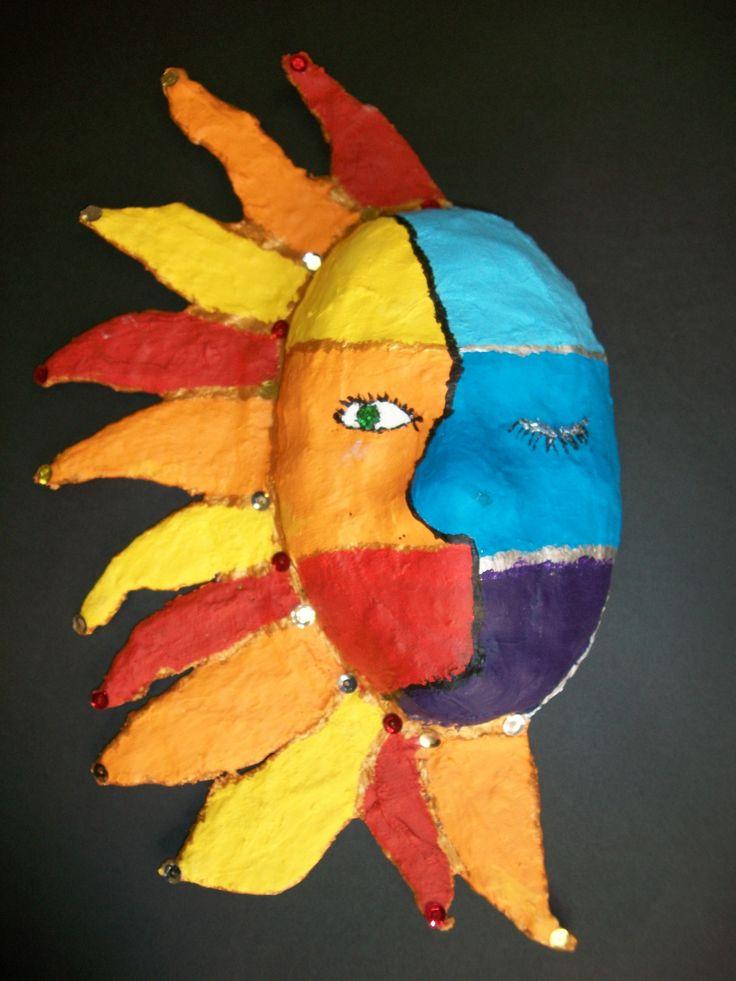Classroom Design Ideas 5th Grade ~ Th grade plaster mask elementary art pinterest