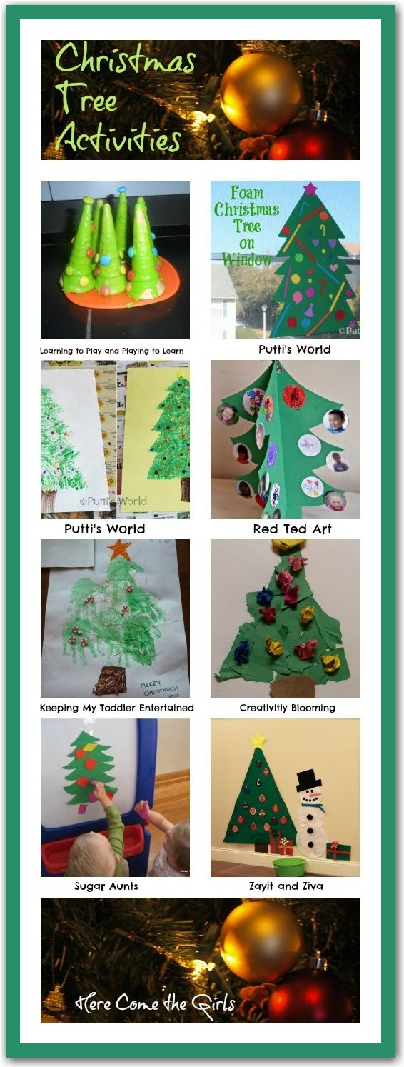 Christmas tree activities