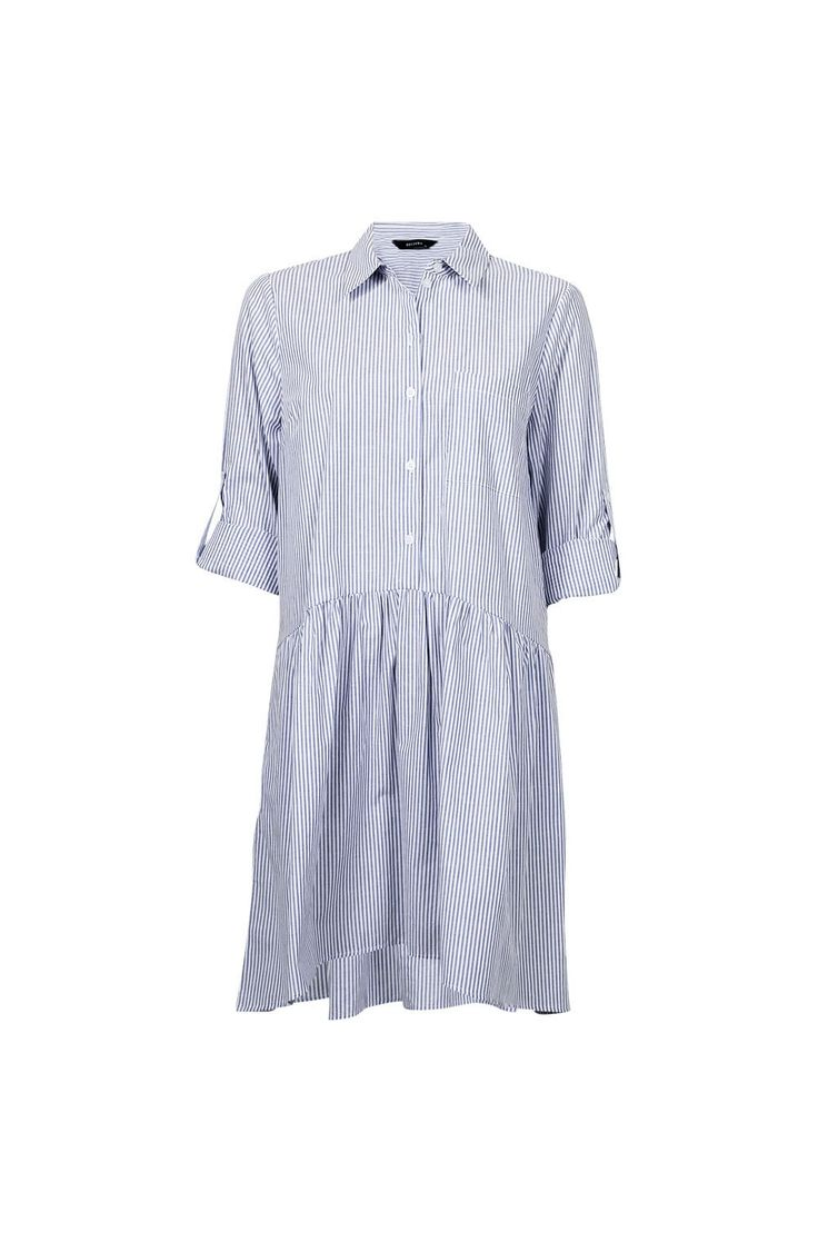LONDON COTTON SHIRT DRESS
