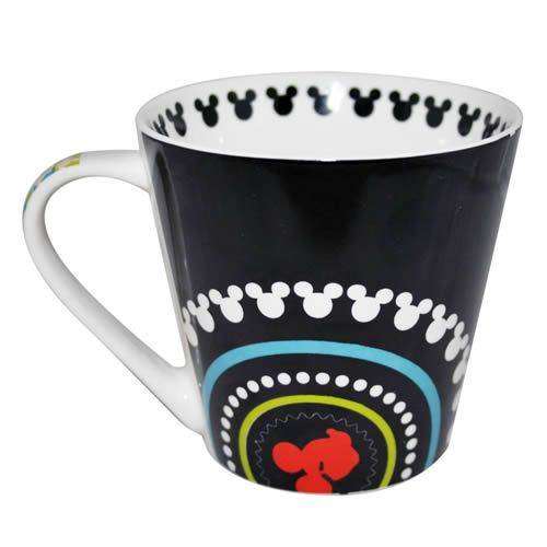 Mickey Mouse Electric Patterned Mug