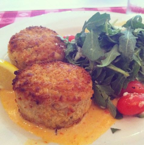 Maggiano's Little Italy Mini Crab Cakes Recipe - a classic, easy-to-make appetizer for your brunches, luncheons and dinners year round!