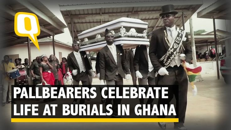 Pallbearers in Ghana Pay Respects to the Dead With Celebration - The Quint