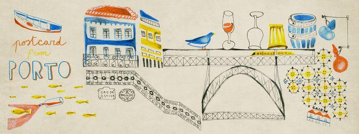Postcard from Porto, Portugal