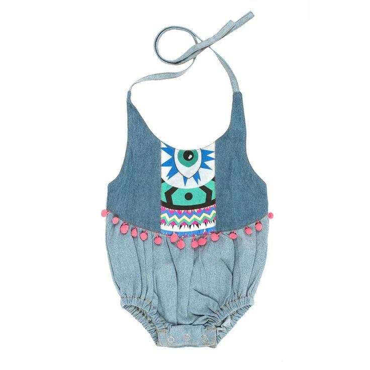 Children of the Tribe Little Gypsy Romper
