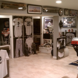 Yankees Section Of Future Man Cave