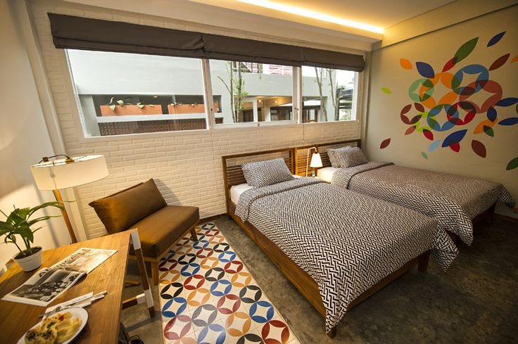 LOKAL Hotel is an exciting bijou hotel in Yogyakarta with 12-rooms available and a restaurant that seats 80 people, available to hotel guests and outside visitors.