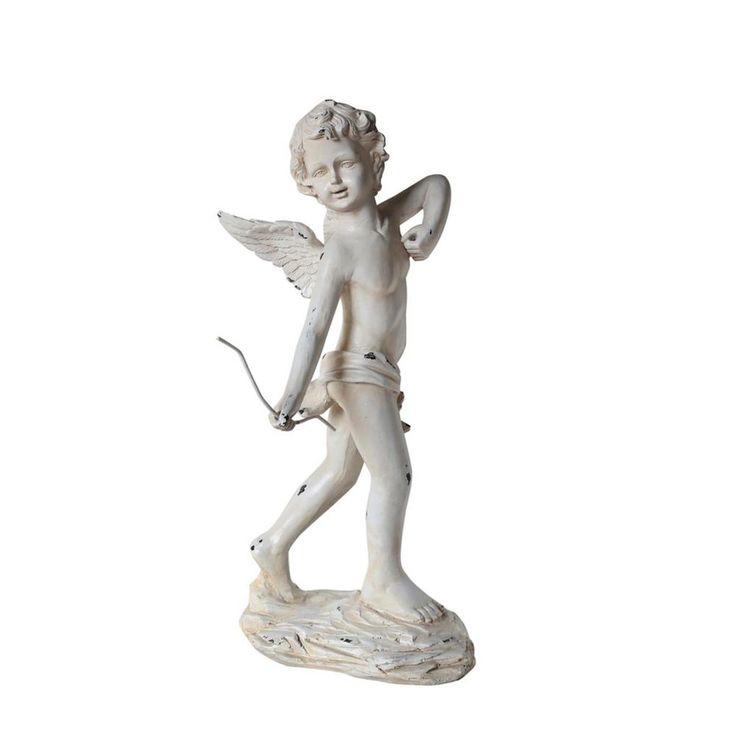 24 in. Cherub Angel Garden Statue