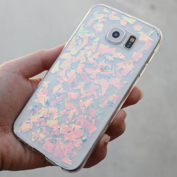 Cas Holographique Plumes Pour Samsung Galaxy S8, Plus