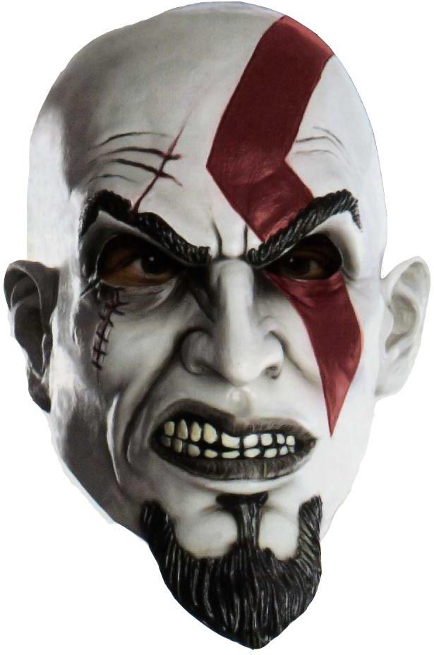 God Of War Kratos Mask War Affiliate God Mask Kratos Aff God Of War Mask Halloween Face