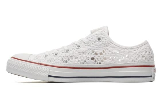 Sneakers Converse Chuck Taylor All Star Crochet Ox W immagine sinistra