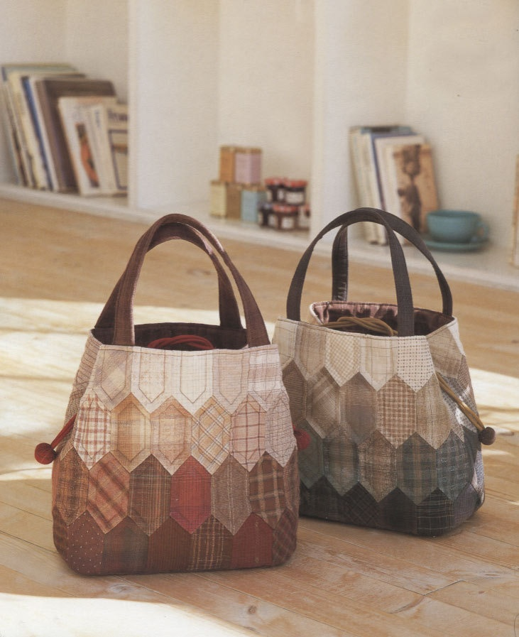 How to make tutorial women duffle Bag Handbag purse women sewing quliting quilt patchwork applique pdf pattern patterns ebook. $5.00, via Etsy.