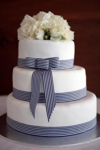 Can my mexican themed birthday have a cake with striped grosgrain ribbon? haha