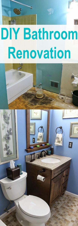 Photo Album Website DIY Small Bathroom Renovation