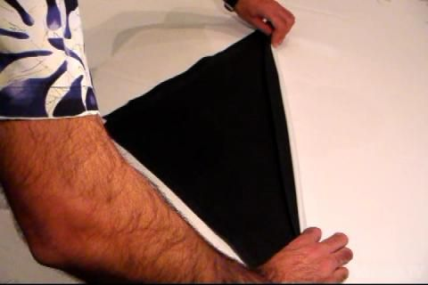 Royal Caribbean Tuxedo Napkin Fold