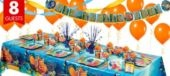Finding Nemo Party Supplies Super Party Kit- Girls Party Themes- Girls Birthday- Birthday Party Supplies - Party City
