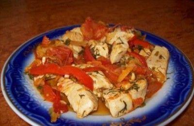 7/1куринная грудка с овощами (обед по минус 60) : Низкокалорийные рецепты