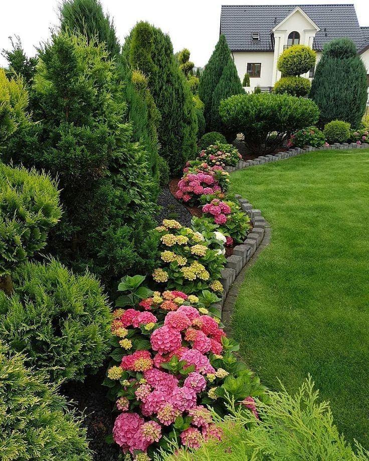 спасибо за лайк ландшафт ландшафтныйдизайн садовыйдекор дачныйдекор Garden Design Layout Landscaping Front Yard Landscaping Design Garden Design Layout