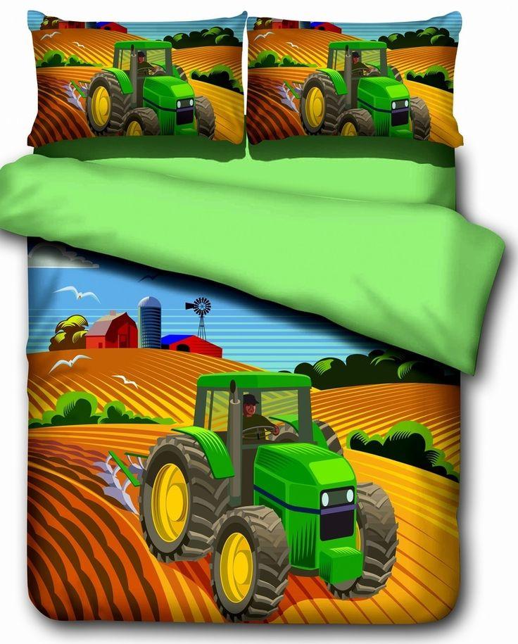 ensemble de literie le tracteur chambre pinterest ensembles de literie tracteurs et. Black Bedroom Furniture Sets. Home Design Ideas