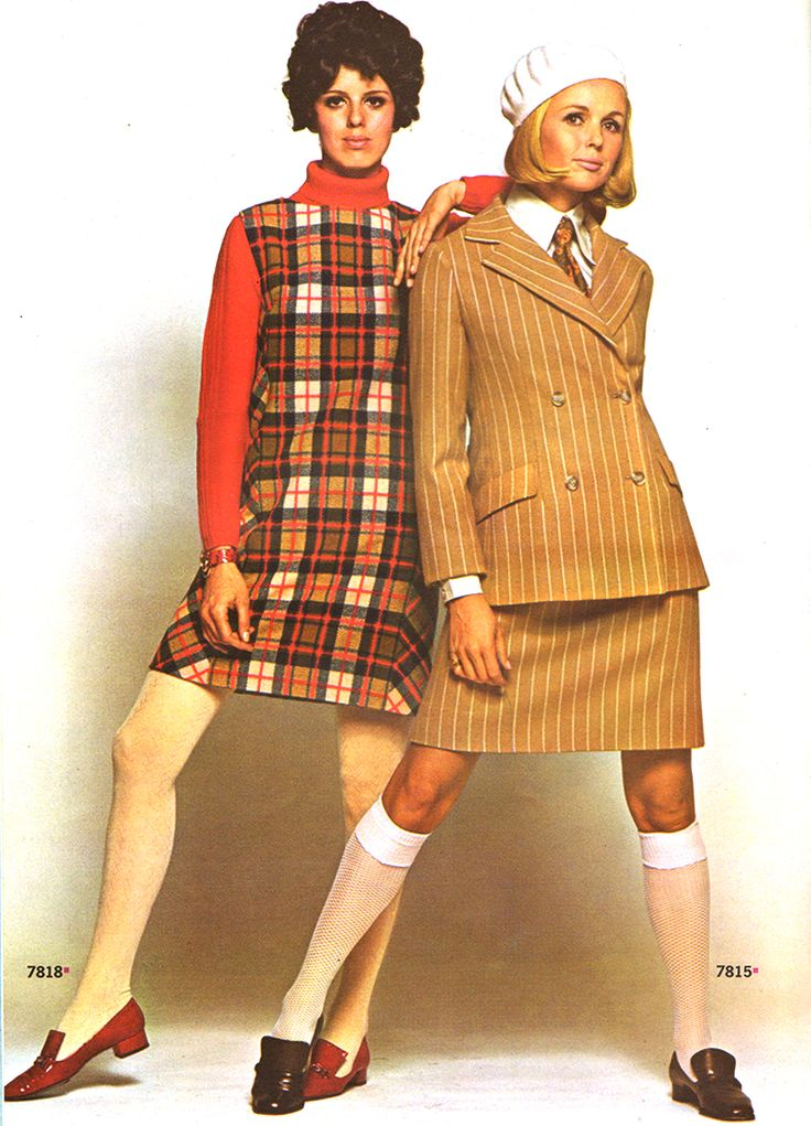 Fashion trends in 1968 64