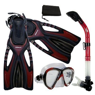 #Snorkeling mask dry #snorkel fins dive gear #package set,  View more on the LINK: http://www.zeppy.io/product/gb/2/371606530057/