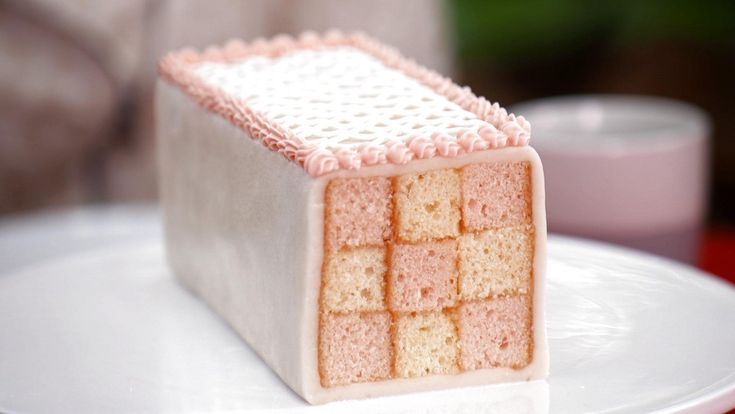 Finals Week Technical Bake: Mary Berry's Battenberg Cake | The Great American Baking Show