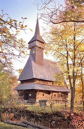 マラムレシュ地方の木造聖堂