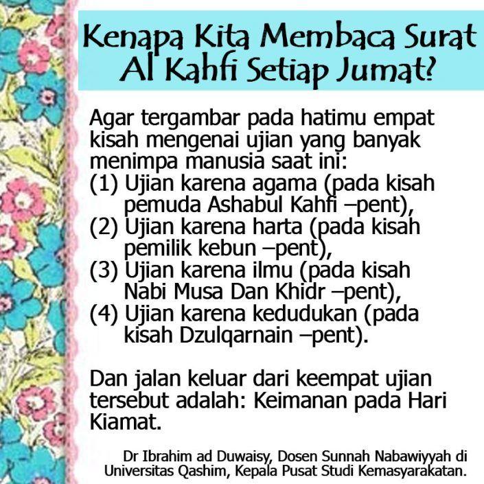 Kenapa Kita Membaca Surat Al Kahfi Setiap Jumat Muslim