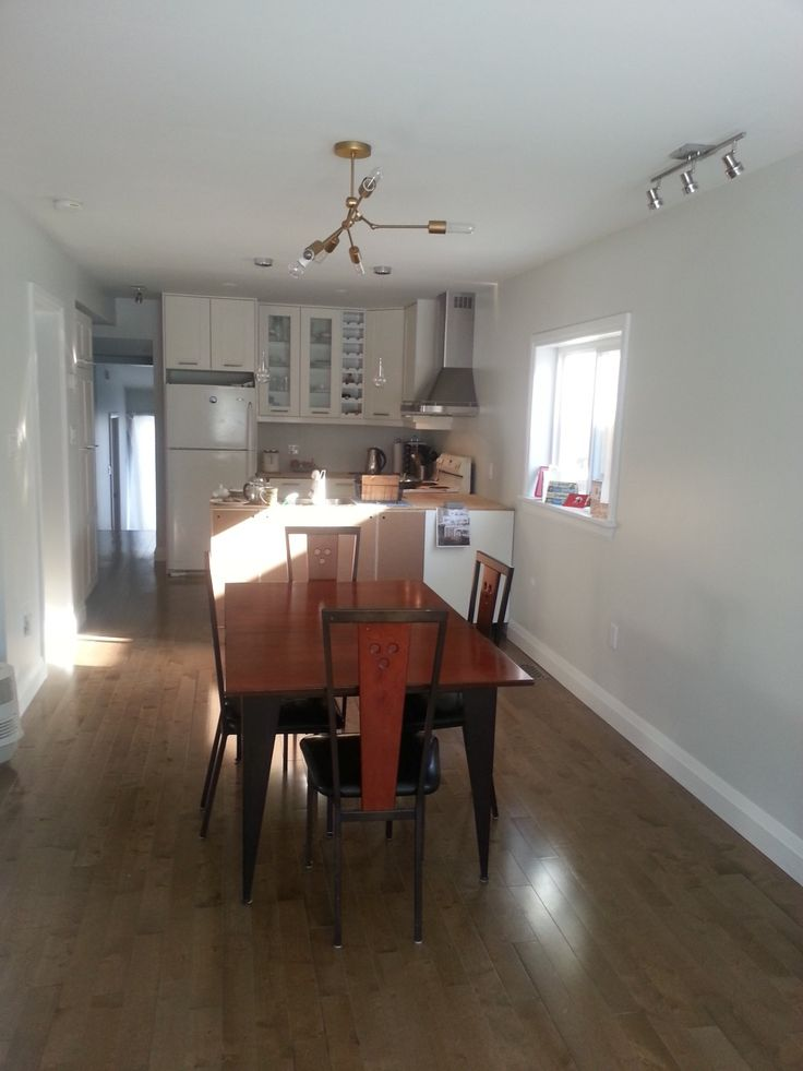 existing dining area