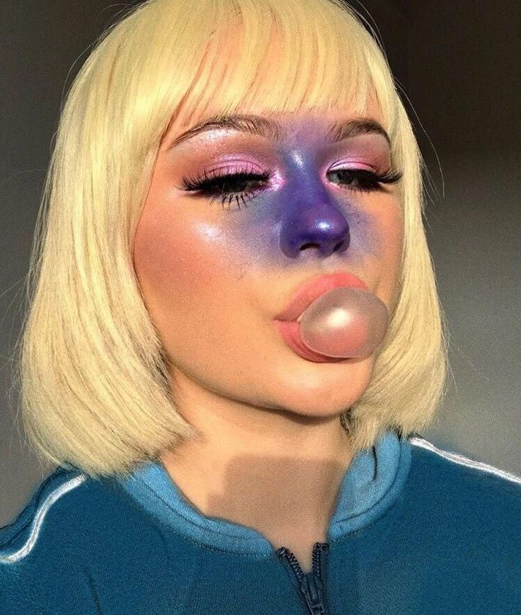 Pin by 𝓗𝐨𝐧𝐞𝐲𝐜𝐚𝐤𝐞. on GLAM UP in 2019 Halloween makeup