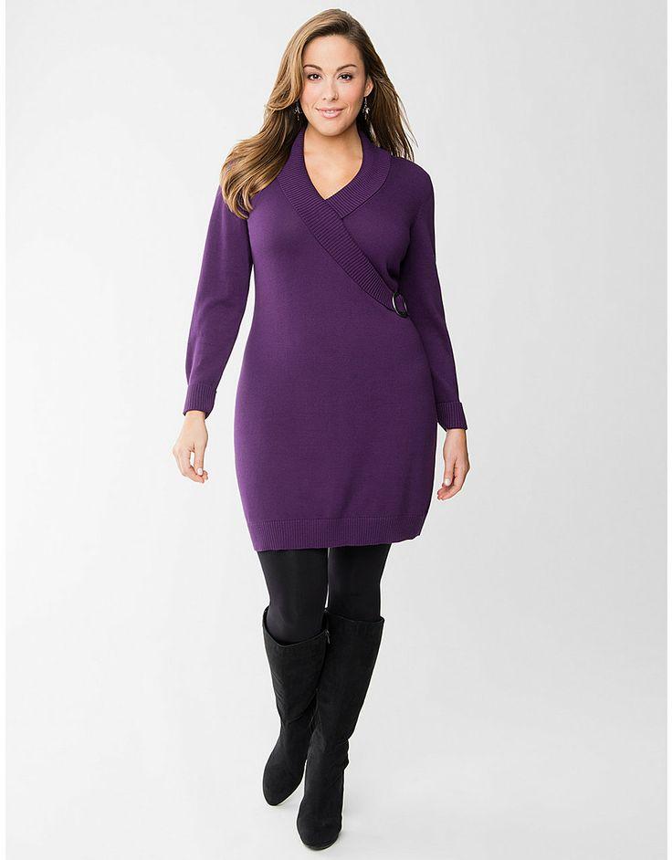 Mejores 96 imágenes de Sweater Dresses: Plus Size en Pinterest ...