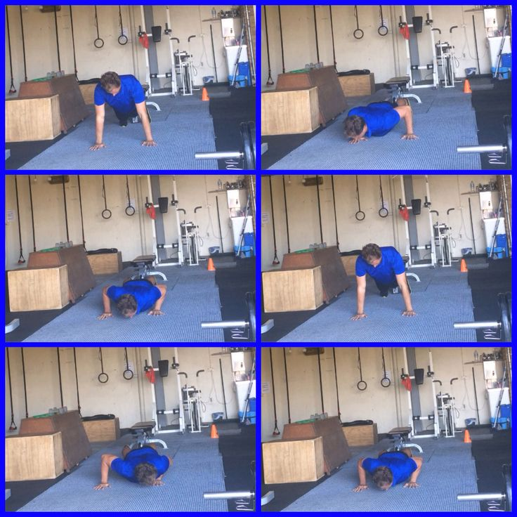 1/2 Triangle Push-Up. How to:  Sink into one hand in the bottom position hover to the centre and push out of the centre from the bottom position back into to top position alternate sides.