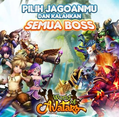 World of Avatars, game MMORPG terbaru dari Prodigy!