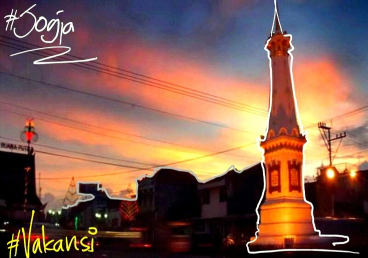 Tugu Jogjakarta, Indonesia #Vakansi