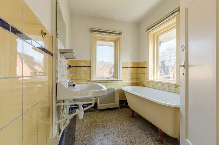Jaren30woningen.nl | Originele badkamer uit de jaren 30