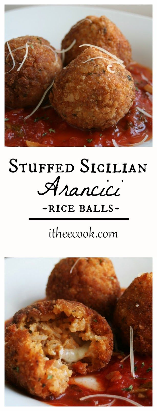I have always wanted to try these. Maybe today is,the day. I Thee Cook: Stuffed Sicilian Arancici