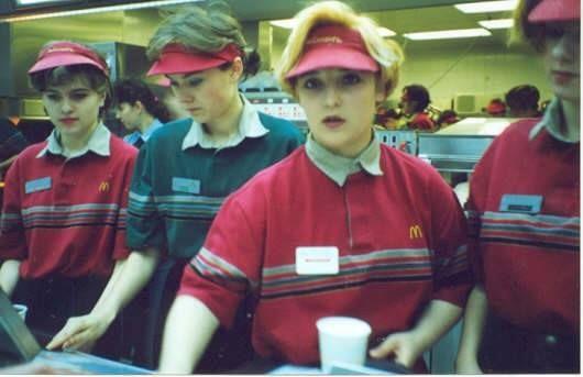 McDonald's, 1980s, my first real job