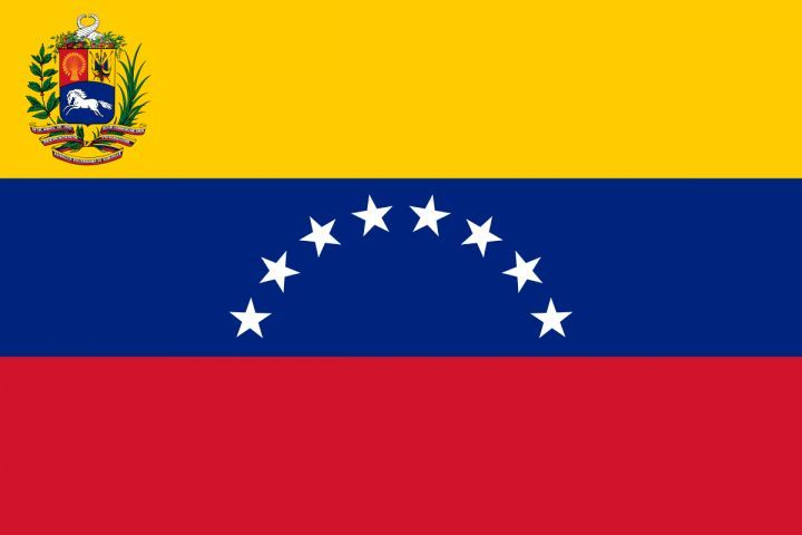 12 Gorgeous Yellow Blue Red Flag With Stars Photos Venezuela Flag Flag Flag Colors