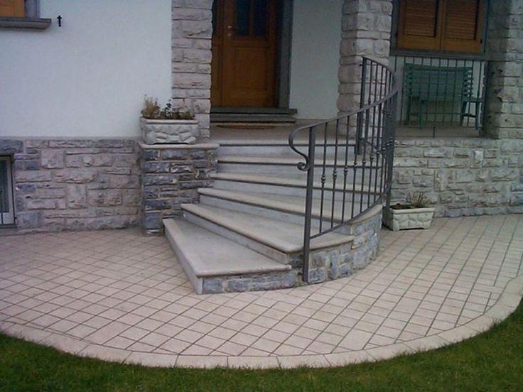 Oltre 25 fantastiche idee su scale esterne su pinterest ringhiere per terrazze scale da - Rivestimenti scale esterne ...