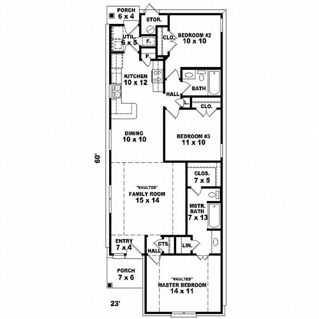 Traditional House Plan 651096 Ultimate Home Plans In 2020 Diy House Plans One Floor House Plans House Plans 3 Bedroom